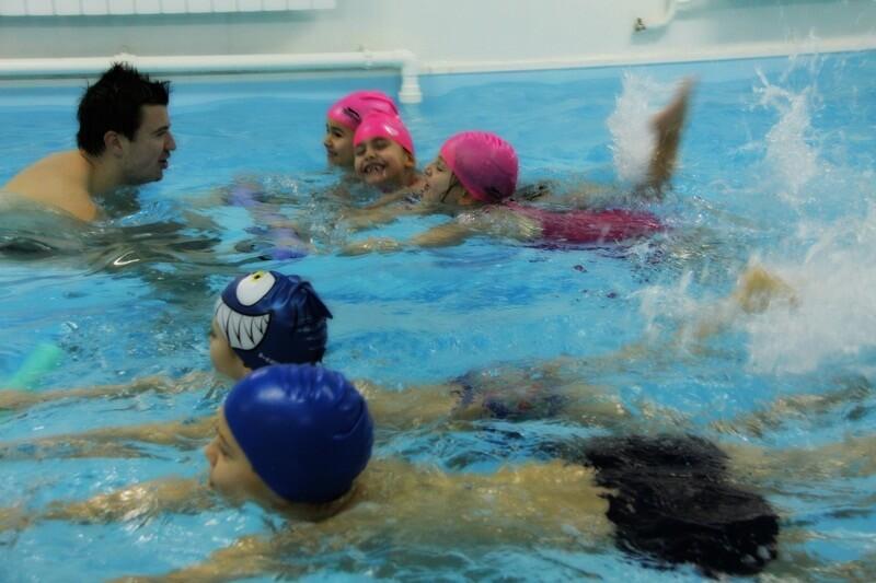 Škola plivanja OŠ Kralj Petar Prvi